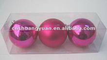 3pcs glitter ball christmas gifts