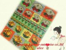 elegant color glassine paper with customers logo or design