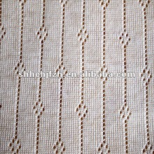 acrylic+wool tranfer loop knitted textile fabric