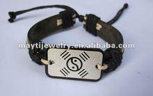 wholesale Chinese KONG FU leather bracelet