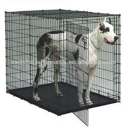 Red Star metal dog kennel/galvanized steel dog kennel