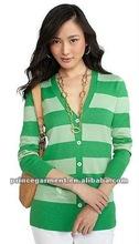 2012 ladies fashion cotton button-down cardigan sweater