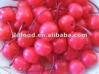 pitted sweet cherries in jar