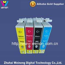 compatible ink cartridge for epson D88/D68 4 color inkjet printer ink cartridge