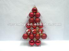 Glitter Christmas ball decoration