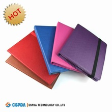 Popular 360 Degree Rotation PU Leather Case Cover For New Ipad