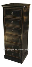 Chinese antique furniture modern elm wood ix Drawers Cabinet