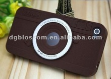 2012 Hot Newest silicone camera phone case,Funny Interesting design
