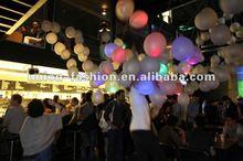 2012 Newest Design Multi Color LED Flashing Balloon,Light Up Balloon