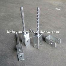 Adjustable Hot Dip Galvanized Pole Anchor