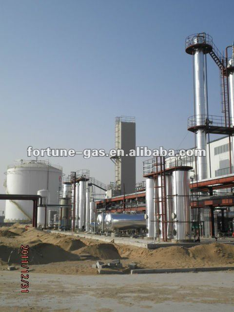 200 Thousands Nm3/d LNG Plant for JuChang Company