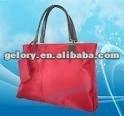 2012 microfiber folded promotional tote bag