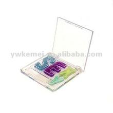 Hot wholesale beutiful Sexy Letter platette makeup lip color