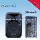 15'' 2Way Plastic DJ Speaker Box