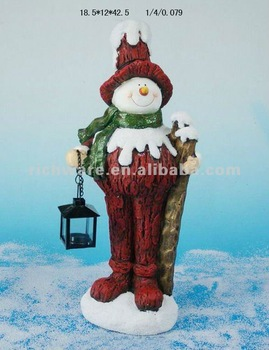 Large Outdoor Resin Snowman Decoration