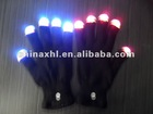 Flash led finger light gloves