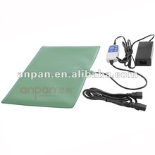 Electric heated dog mat for warm and hot therapy in cold times