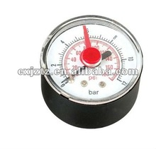 40mm Standard pressure gauge with red mark pointer