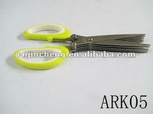 10 blades rubber handle shredder