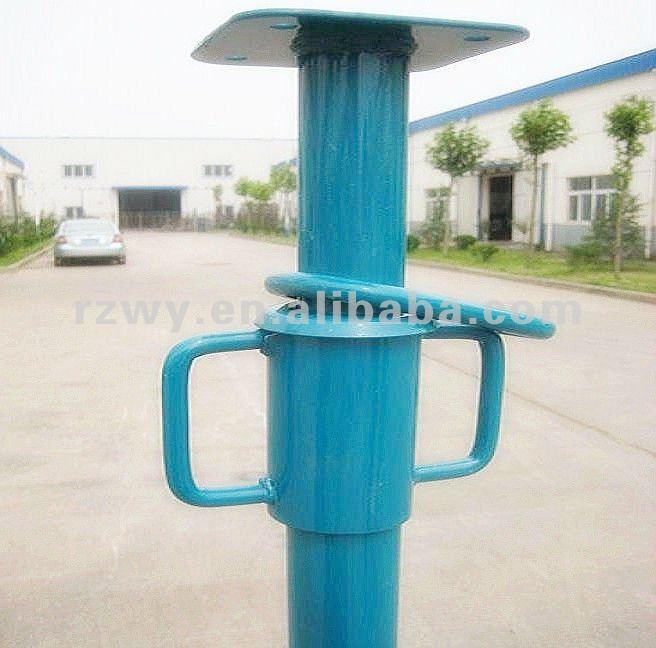 Appui verticaux va-et-vient d'échafaudage en acier réglable de taille de construction galvanisés