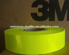 3M Diamond Grade Fluorescent Yellow Green Reflective Sheeting 4083