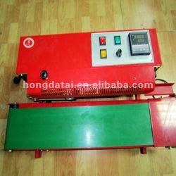 Automatic impulse plastic film heat sealer