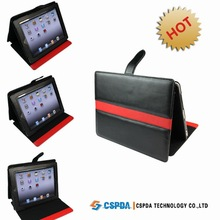 Latest Design Rotation PU Leather Case Cover For New Ipad/ Ipad 3
