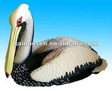 Large resin pelican statue