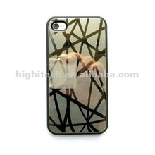 bird Nest Mirror Reflective Chrome Hard Case Cover for iphone 4g 4s