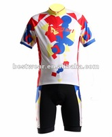 high digital printing pro cycling wear set