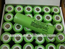 Panasonic 18650CG 2250mAh 3.6V Japan Li-ion cell