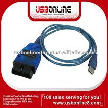 KKL VAG-COM for 409.1 USB OBD2 cable car diagnostic scan tool