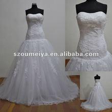 ORW156 High Quality Boned Lace Wedding Dresses 2012