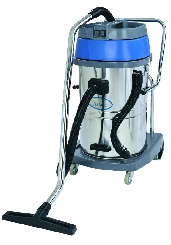 70L wet/dry vacuum cleaners, View stainless bucket, JieBa Product Details from Guangzhou Baiyun ...