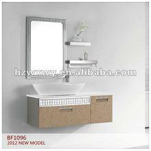 2012 New stainless steel bath vanity