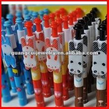 fashion animal palstic pen