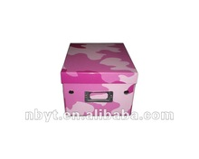 colored cake box with food packaging