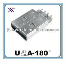 180 USB flash disk female mini usb connector