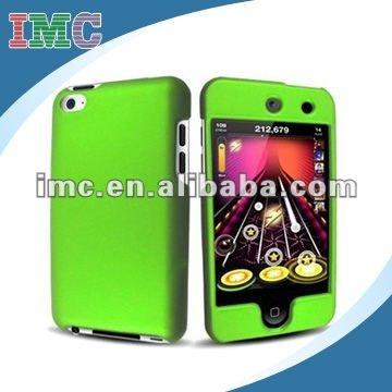 Neon Green Rubberized Hard Case Phone Cover(IMC-TOIPO-0581)