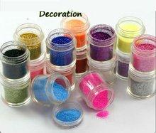 New Glitter Powder Nail Acrylic / UV Gel Decoration