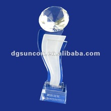 2012 new style acrylic trophy base