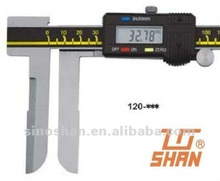 "120-335 20-300mm/0.8-12"" New Type LCD Display Mechanical Slide Metric/Inch system Long Jaw Inside Diameter Digital Calipers"