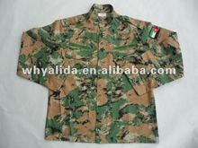 T/C Twill/Ripstop Jordan royal Camo Speical BDU Military Uniform