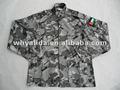 T/c sarga/ripstop jordan azul marino speical camo bdu uniforme militar