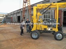 Super Star drill rig in 2012 !!! HF-3 trailer mounted thermal well drilling rig