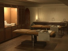Professional Wooden Spa table F628