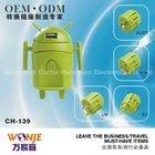 Beautiful Robot-shaped Power Relay Socket OEM&ODM