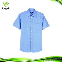 New stylish cotton mens short sleeve cotton shirts
