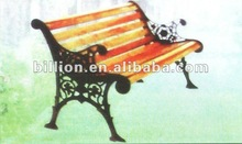 2012 factory new cast iron garden bench chair table for garden decoration