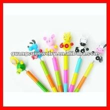 fashion animal shape palstic pen
